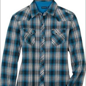 Kuhl Tops - Kuhl. XS. Blue plaid flannel.